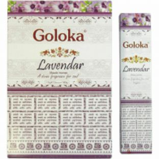 Goloka | Lavender | Hand Rolled Masala Incense | 15g Box